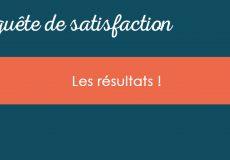 Enquête de satisfaction CPME : Les résultats
