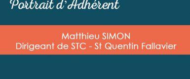 Portrait d'Adhérent : Matthieu SIMON, STC